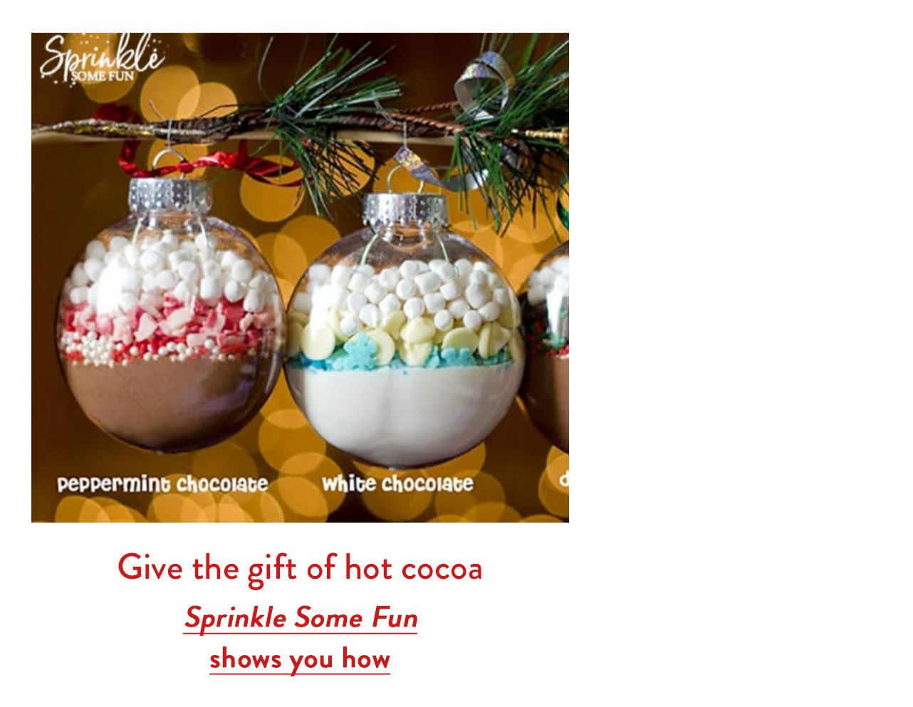 Give the gift of hot cocoa