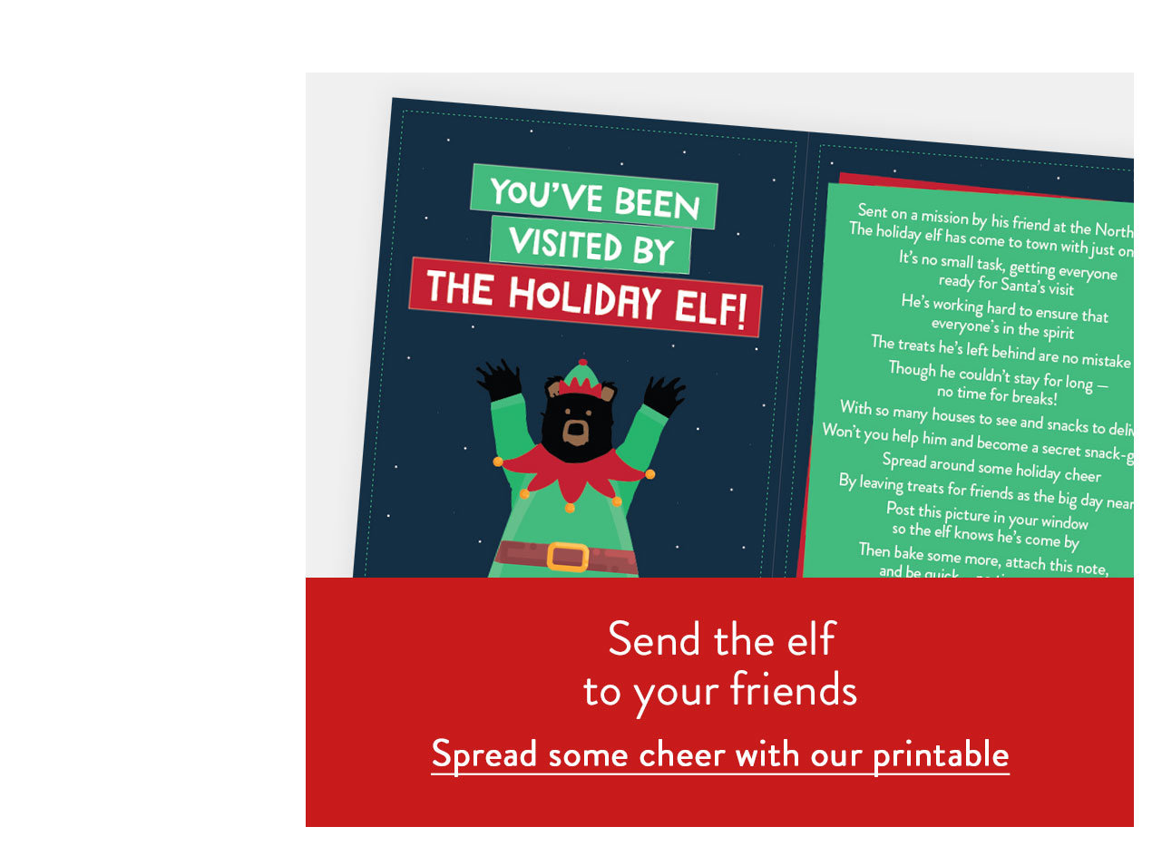 Spread some cheer with our printable