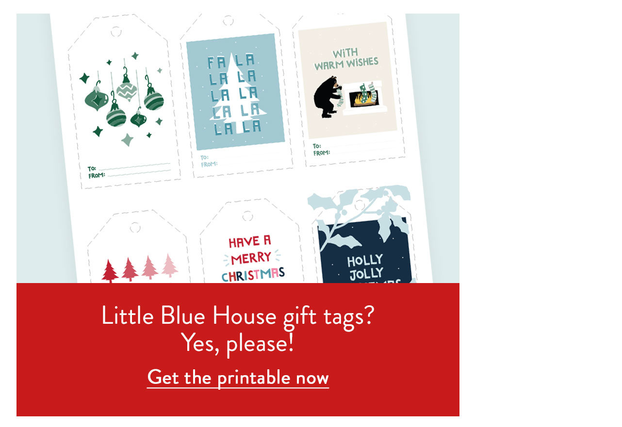 Little Blue House Gift Tags