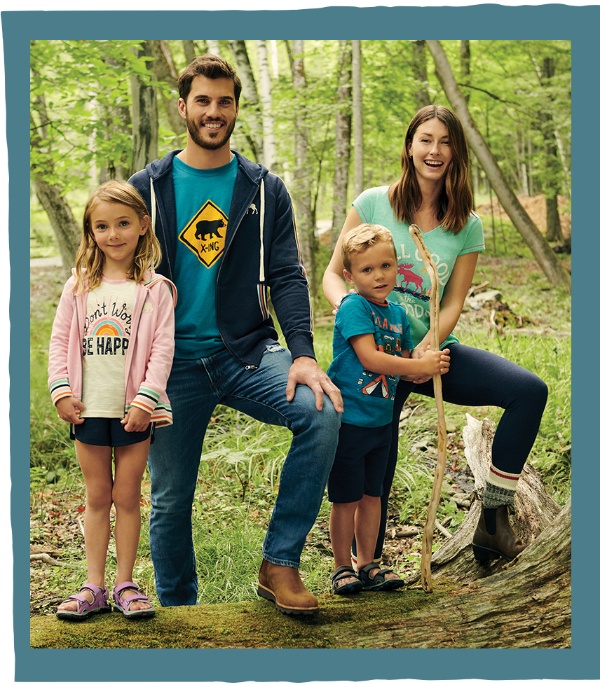Shop family loungewear