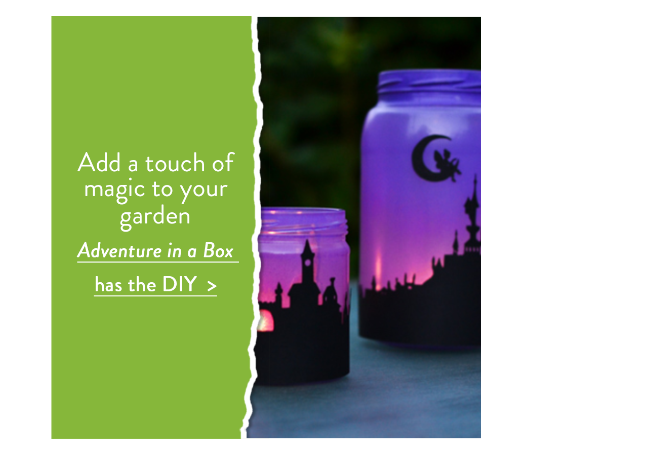 Add a touch of magic to your garden