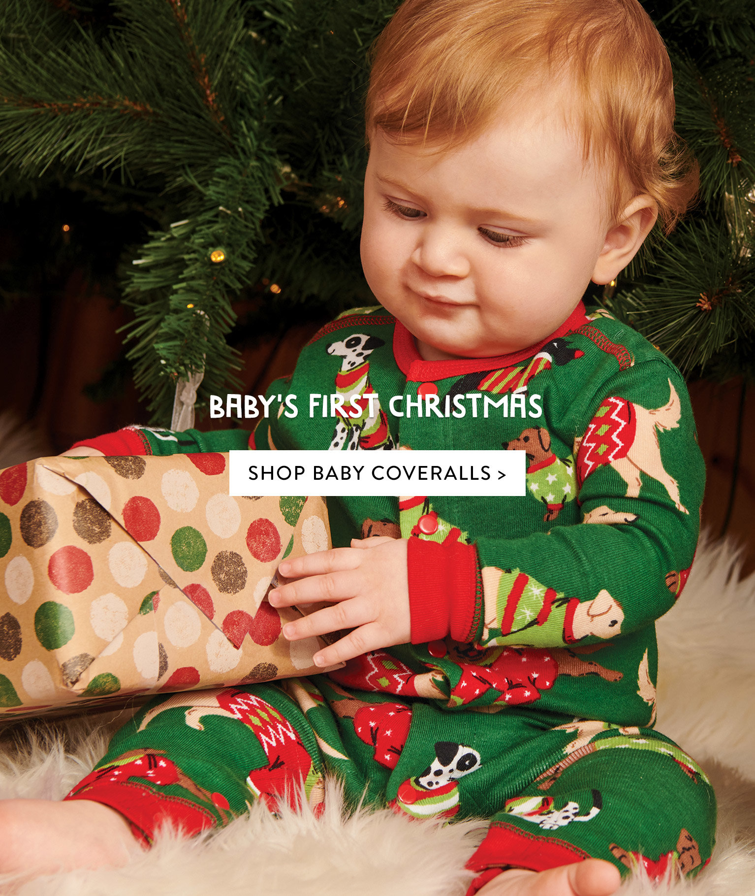 Baby's first christmas