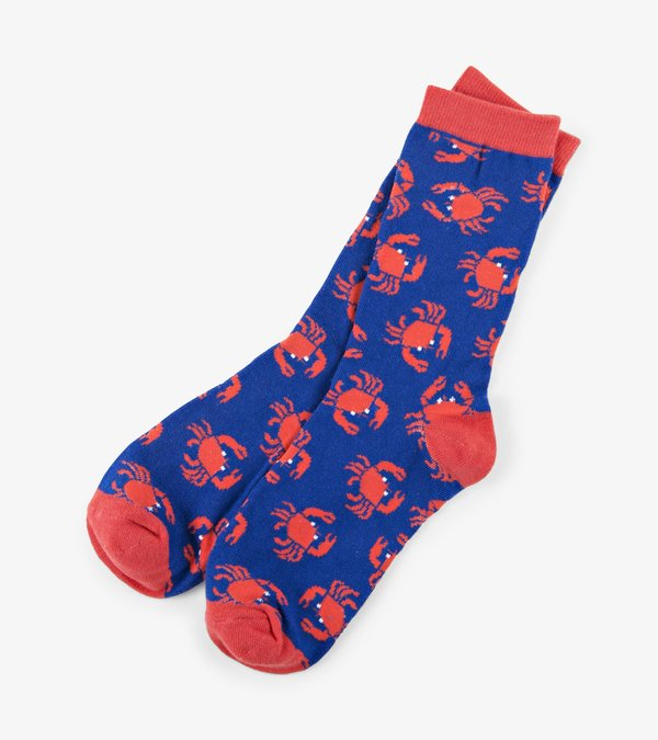 A Cast of Crabs Women's Crew Socks