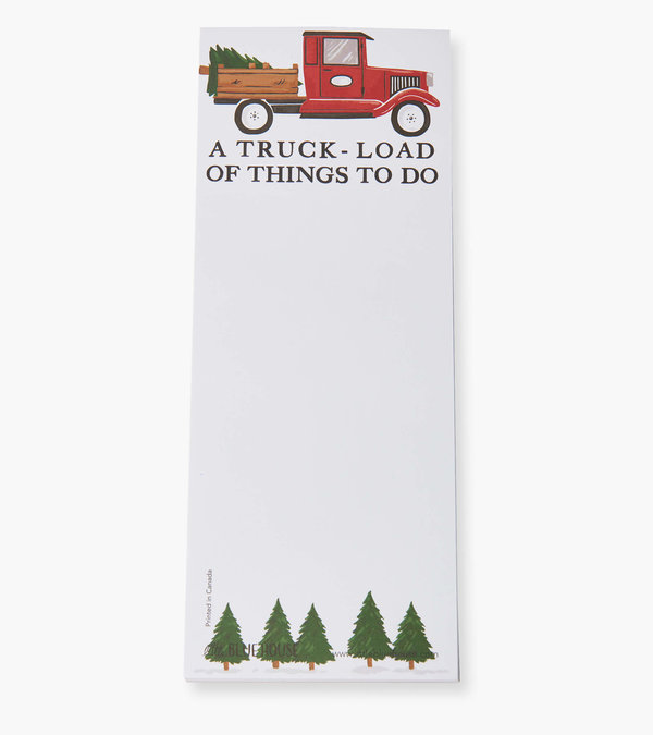 A Truck Load Of Things To Do Magnetic List