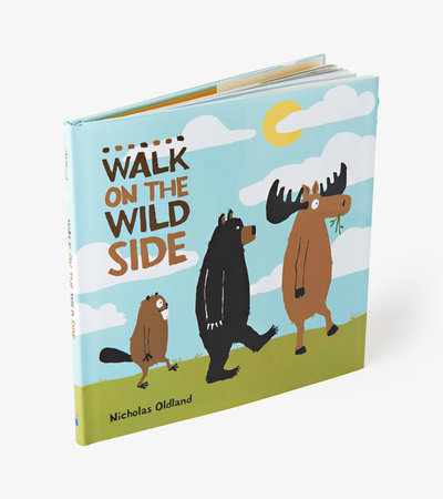 """A Walk on The Wild Side"" Children's Book"