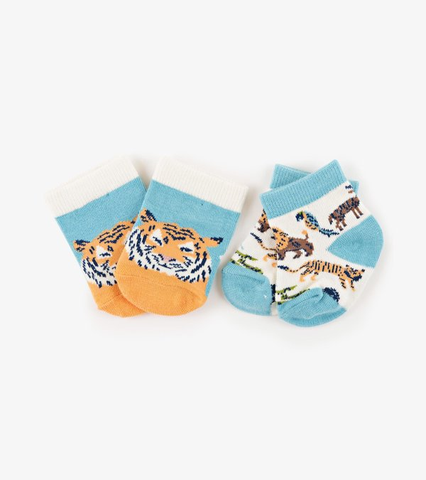 Animal Safari 2-Pack Baby Socks