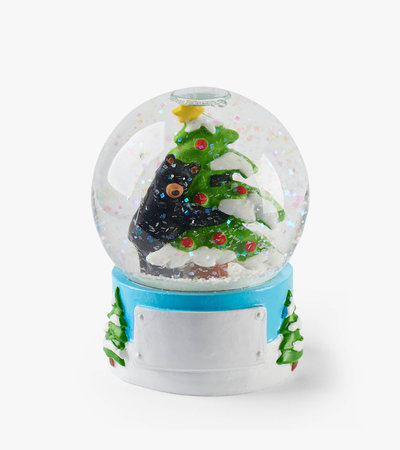 Bear Hug Mini Snow Globe