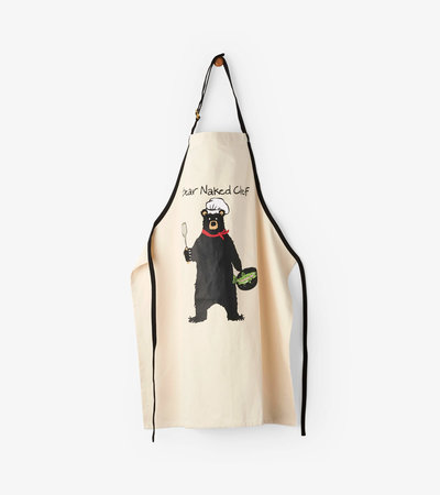 Bear Naked Chef Apron