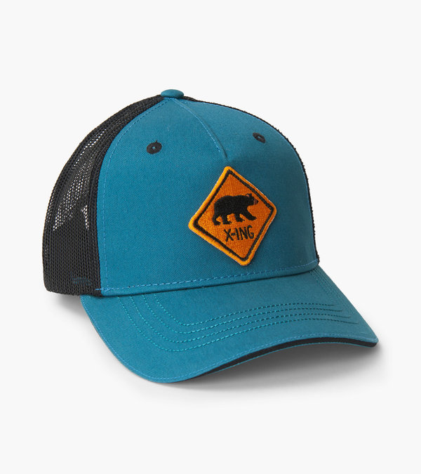 Bear X-ing Kids Baseball Cap