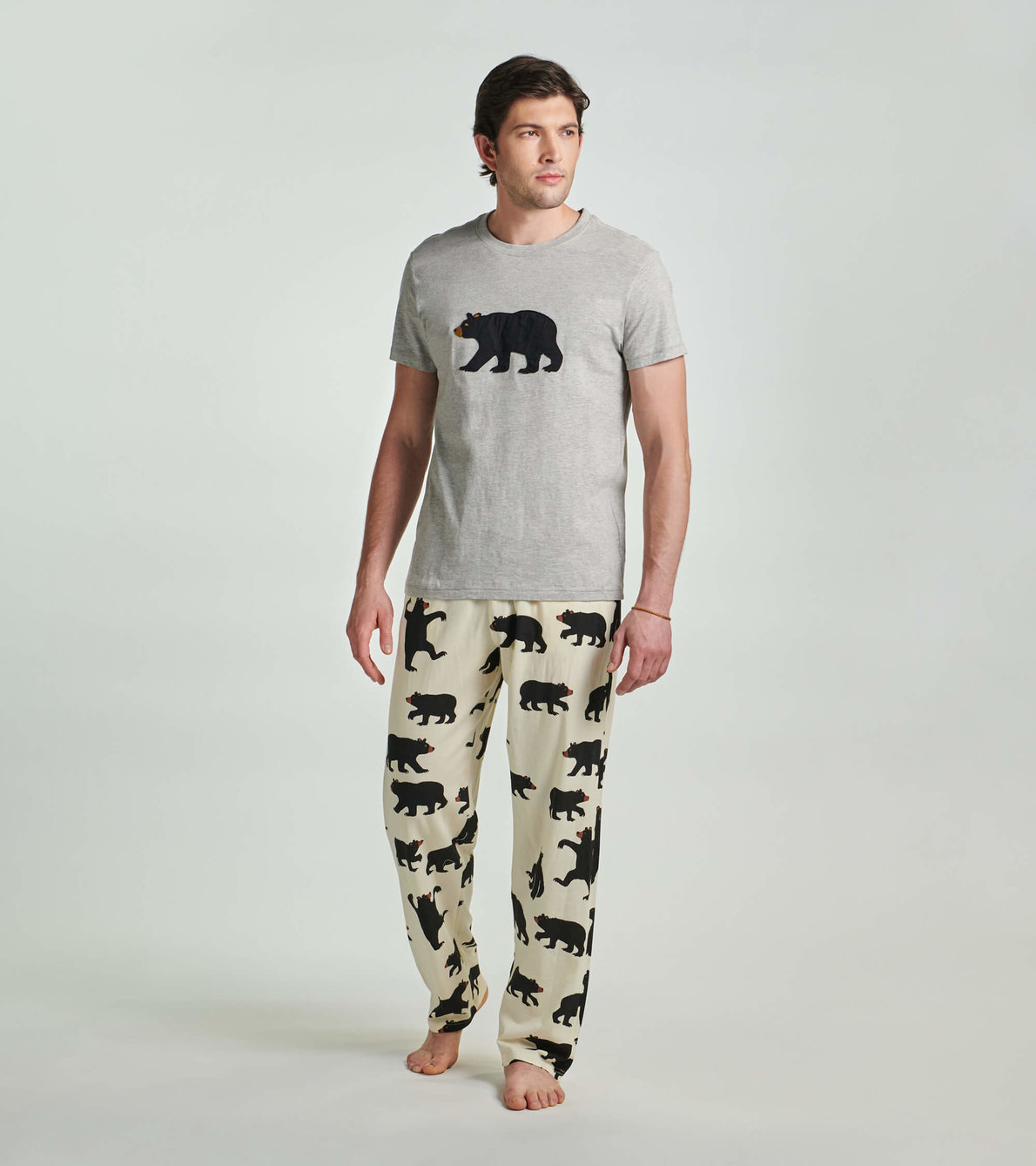 View larger image of Bears Men's Tee and Pants Pajama Separates