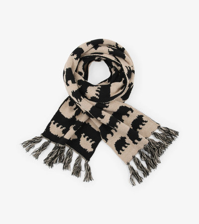 Black Bear Adult Heritage Scarf