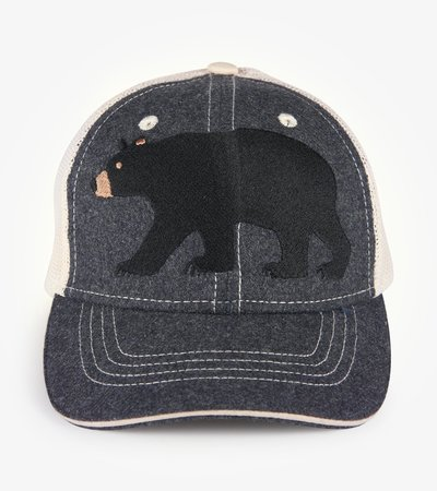 Black Bear Kids Heritage Baseball Cap