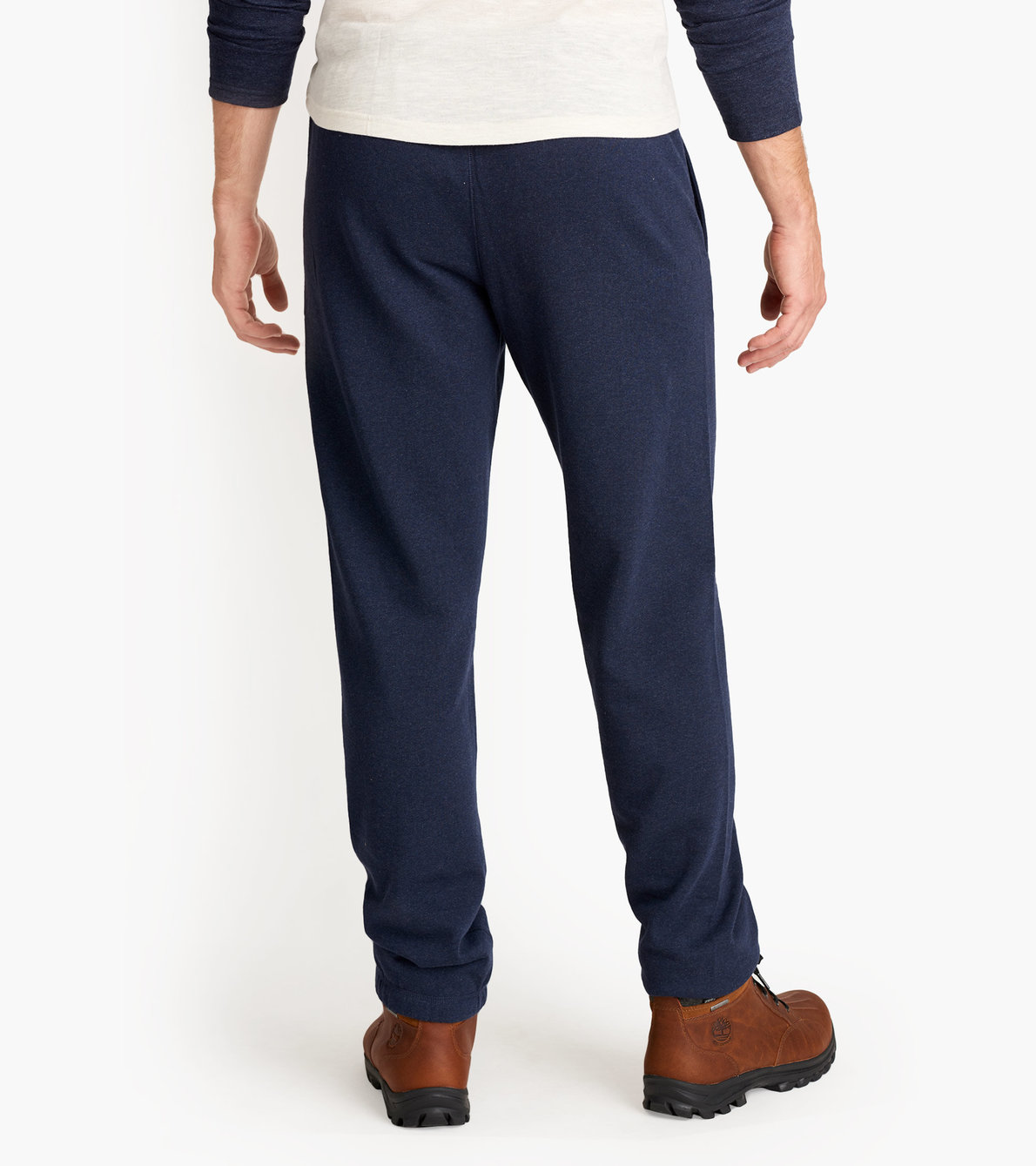 View larger image of Blue Melange Moose Men's Heritage Joggers