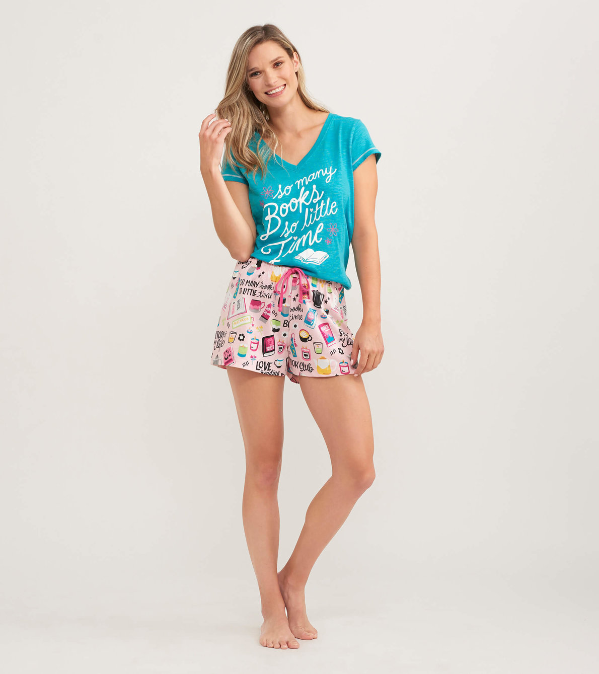View larger image of Book Club Women's Sleep Shorts