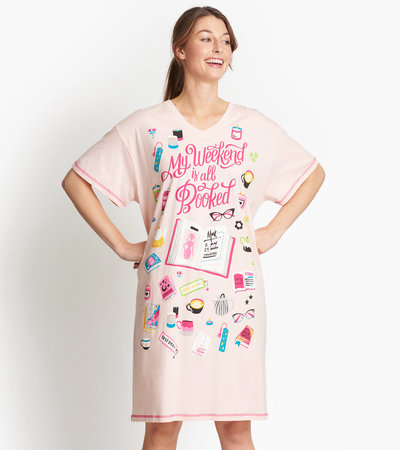 My Weekend is All Booked Women's Sleepshirt