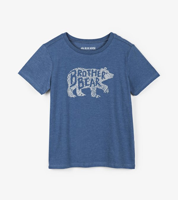 Brother Bear Kids Crew Neck Tee