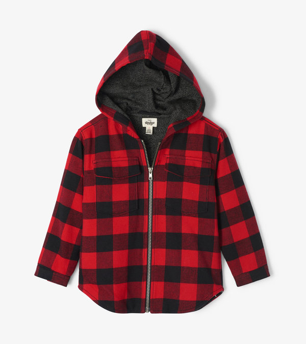 Buffalo Plaid Kids Heritage Flannel Jacket