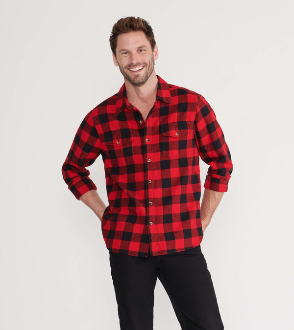 Buffalo Plaid Men's Heritage Button-down Shirt
