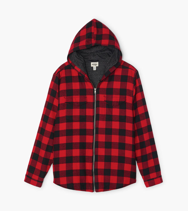 Buffalo Plaid Men's Heritage Flannel Jacket