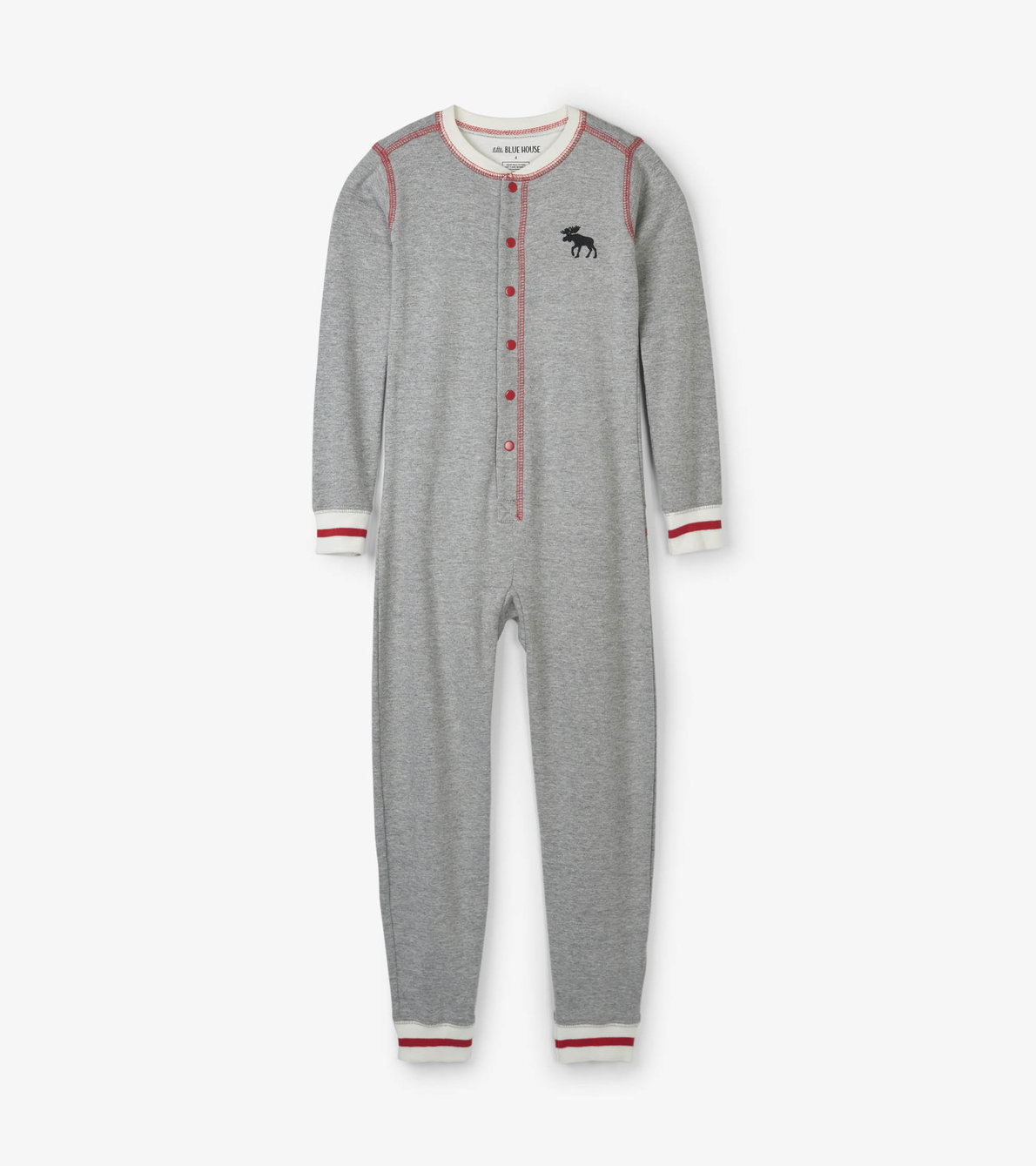 View larger image of Canadiana Moose Kids Union Suit
