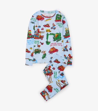 Cars and Trucks and Things That Go Pajama Set