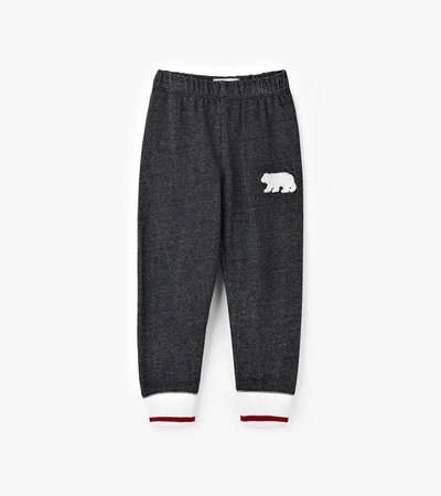 Charcoal Bear Kids Heritage Joggers