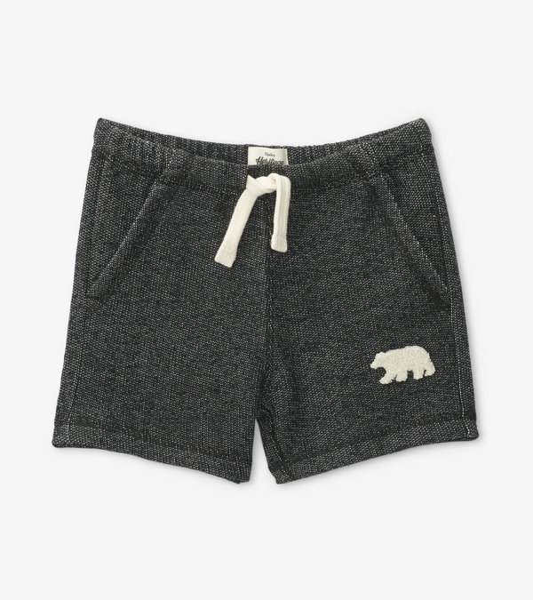 Charcoal Bear Kids Heritage Shorts