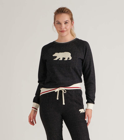 Charcoal Bear Women's Heritage Pullover