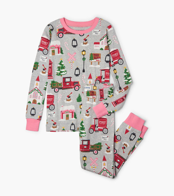 Christmas Village Kids Pajama Set