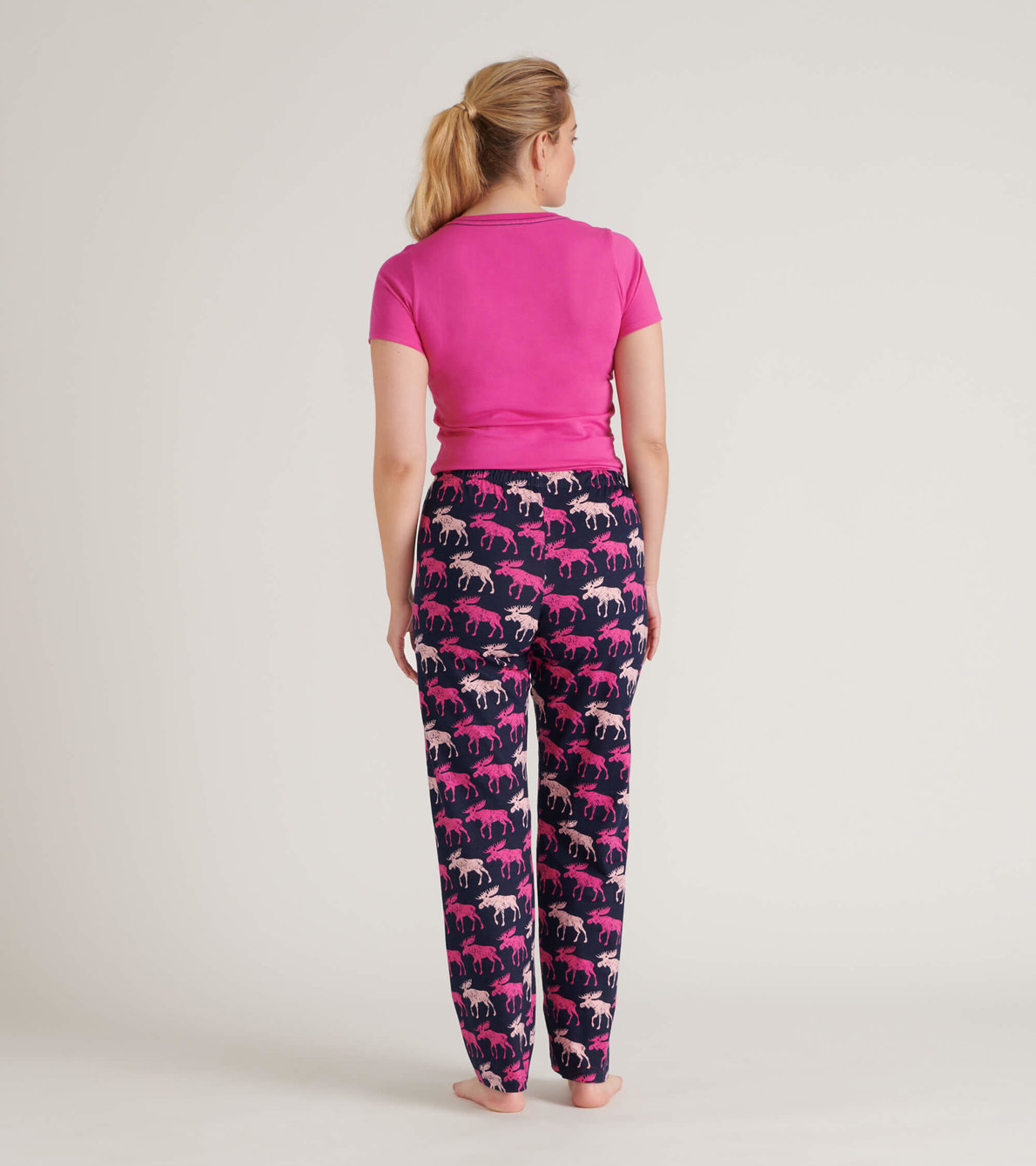 View larger image of Cottage Moose Women's Tee and Pants Pajama Separates