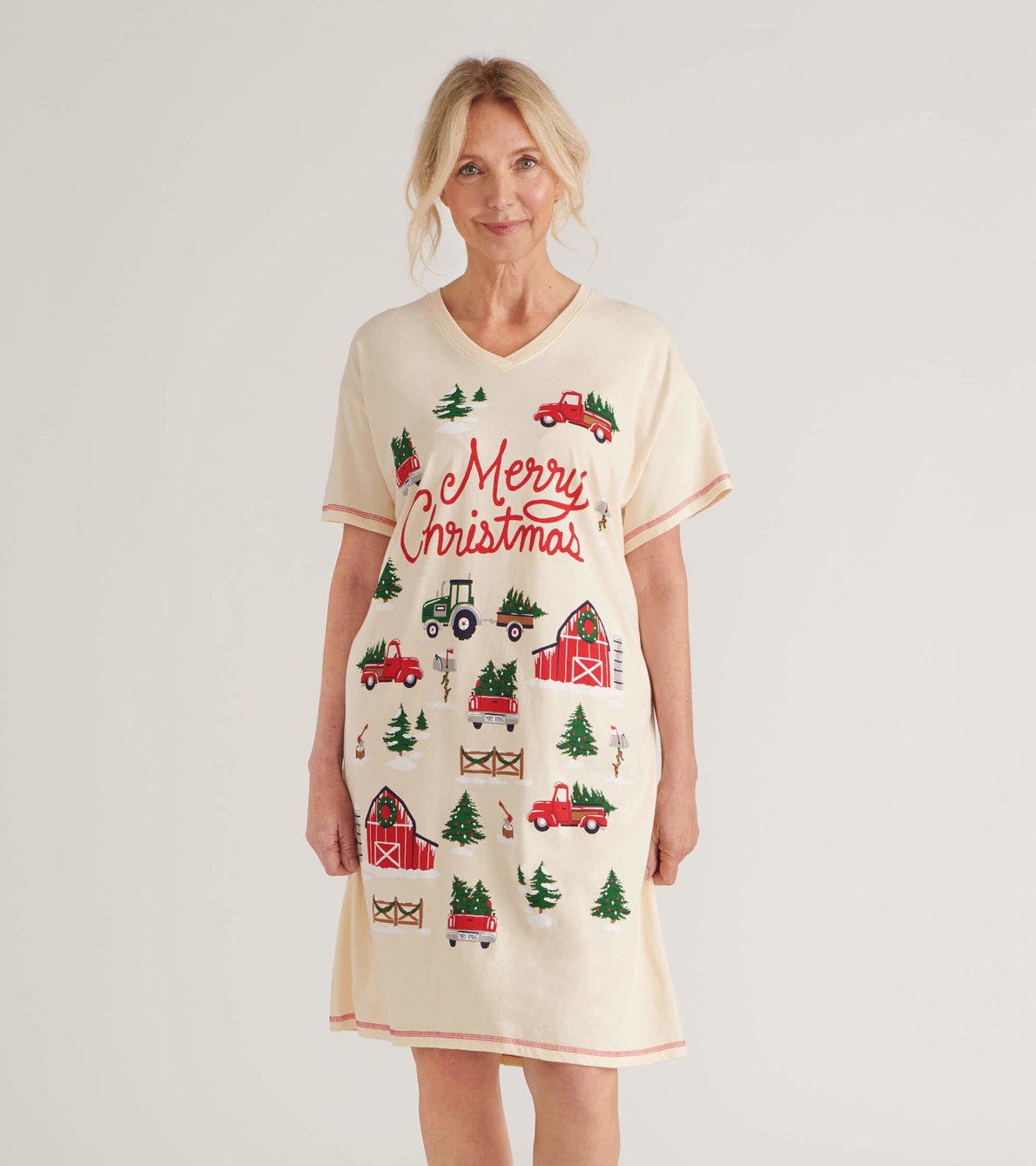 View larger image of Country Christmas Women's Sleepshirt