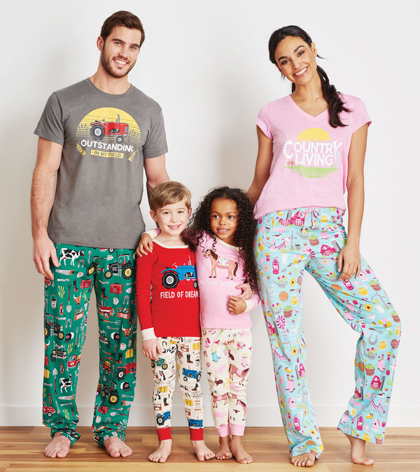 Country Living Family Pajamas