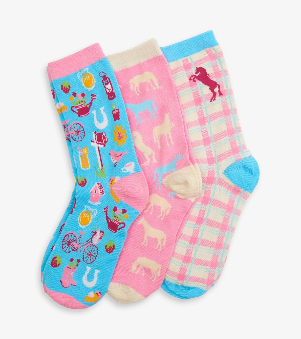 View larger image of Country Living Women's Crew Socks