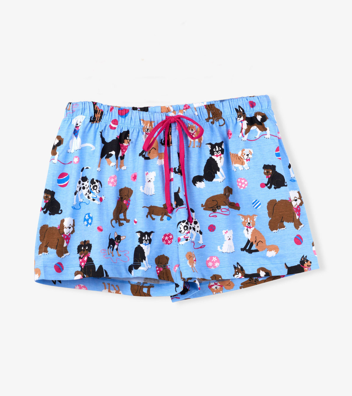 View larger image of Cute Pups Women's Sleep Shorts