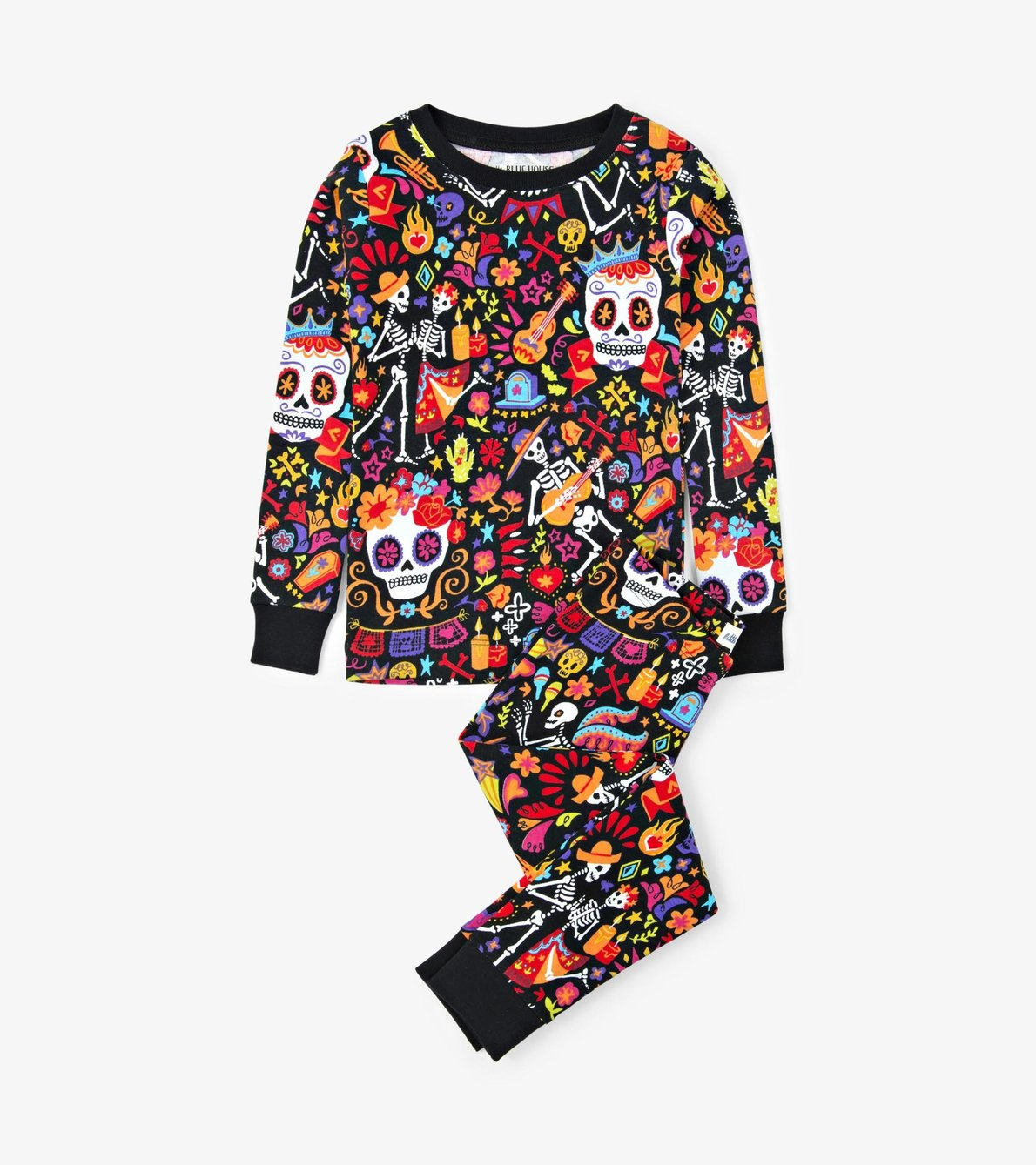"""View larger image of """"Day Of The Dead"""" Kids Pajama Set"""