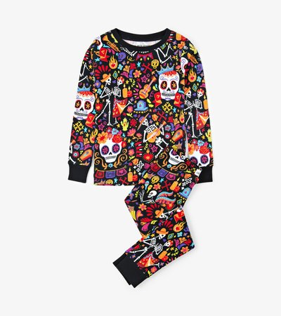 """""""Day Of The Dead"""" Kids Pajama Set"""