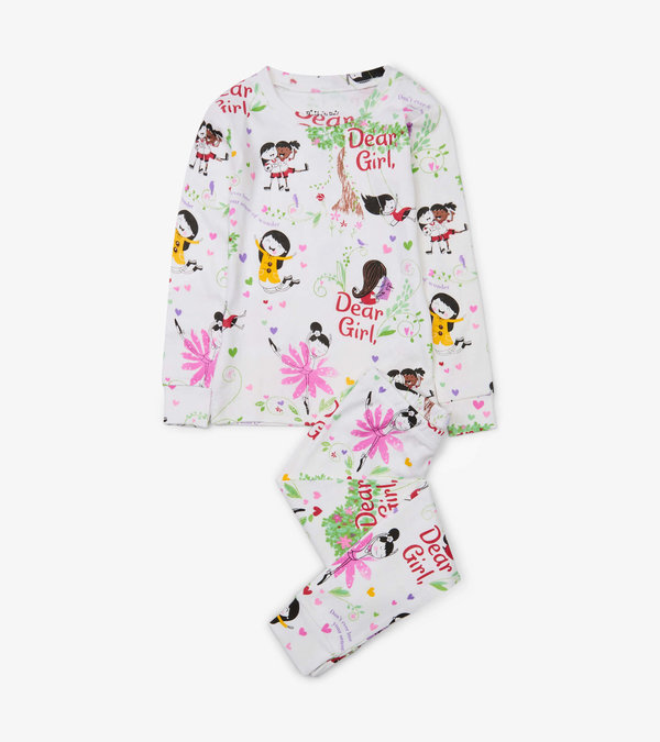 Dear Girl Pajama Set