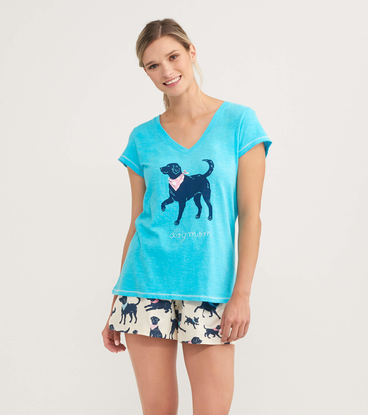 View larger image of Dog Mom Women's V-Neck Tee