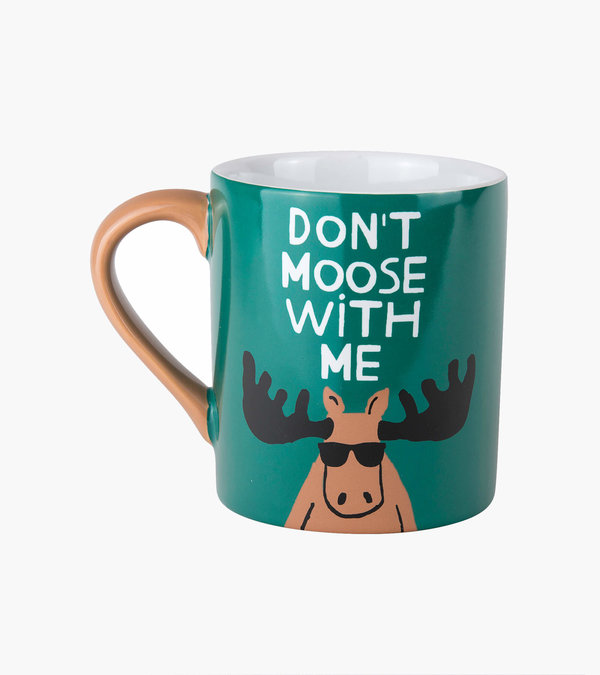 Don't Moose With Me Ceramic Mug