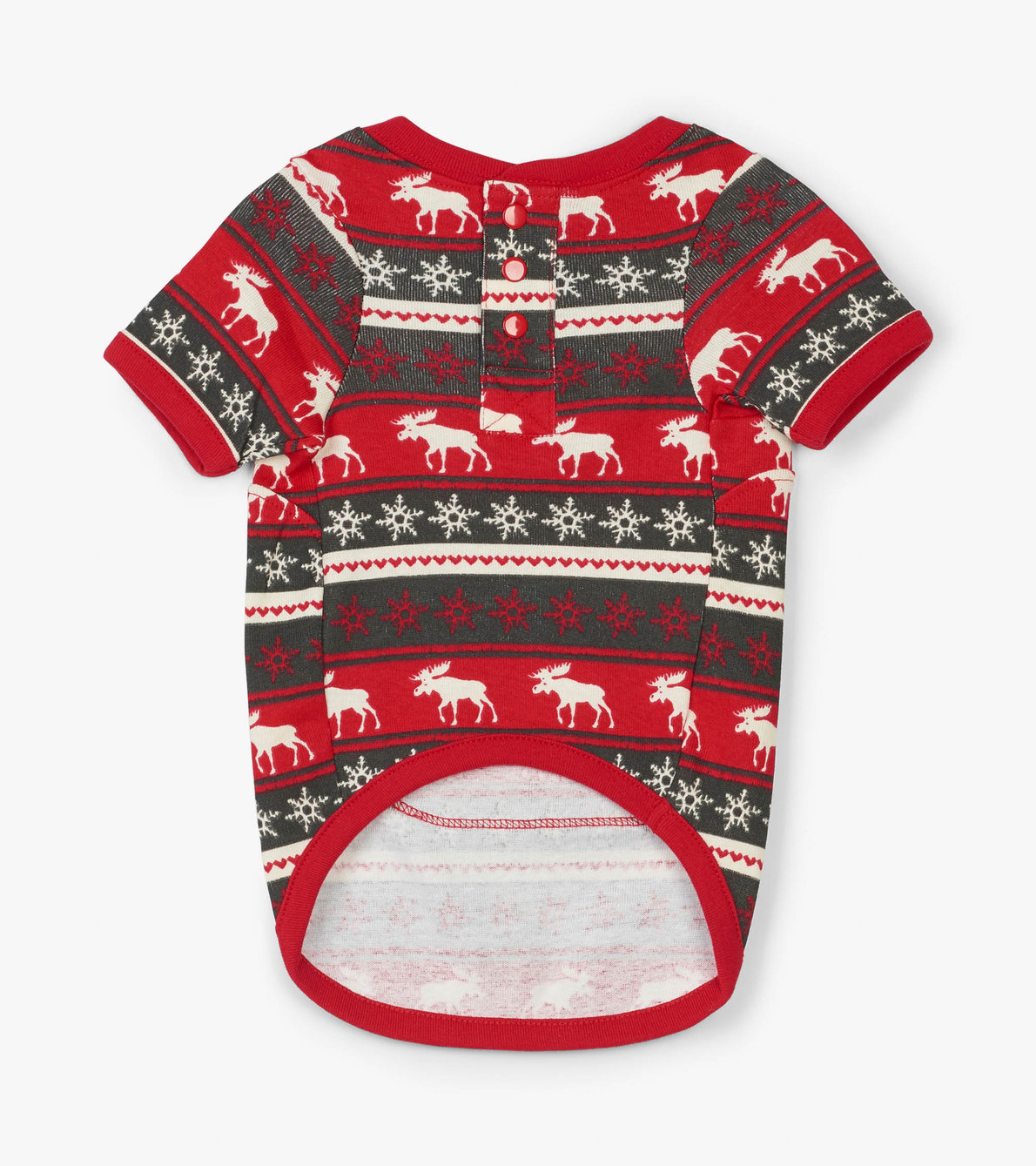 View larger image of Fair Isle Moose Dog Pajama