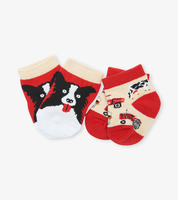Farm Life 2-Pack Baby Socks