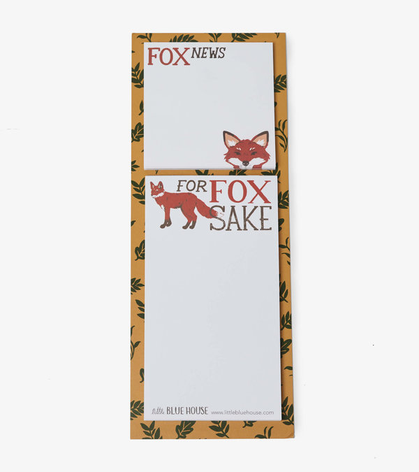 Fox News Sticky Notes & Magnetic List