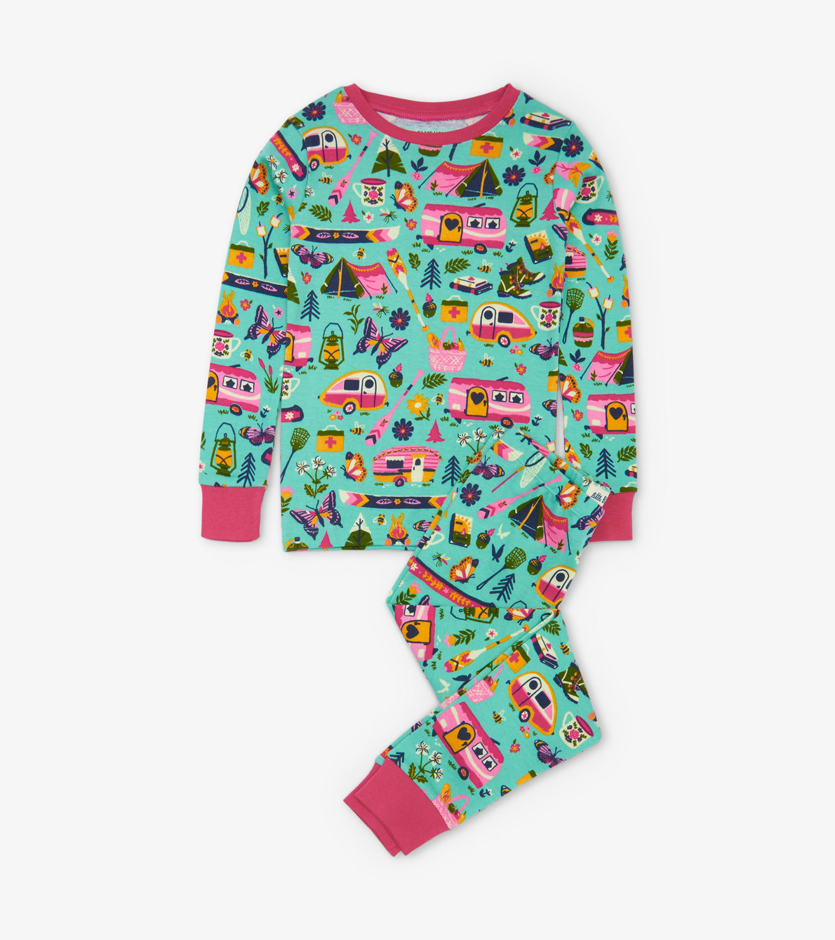 View larger image of Glamping Kids Pajama Set