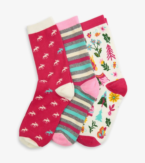 Glamping Women's Crew Sock Set