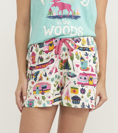 Glamping Women's Sleep Shorts