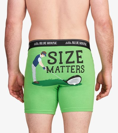 Golf Size Matters Men's Boxer Briefs