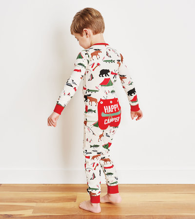 Gone Camping Kids Union Suit