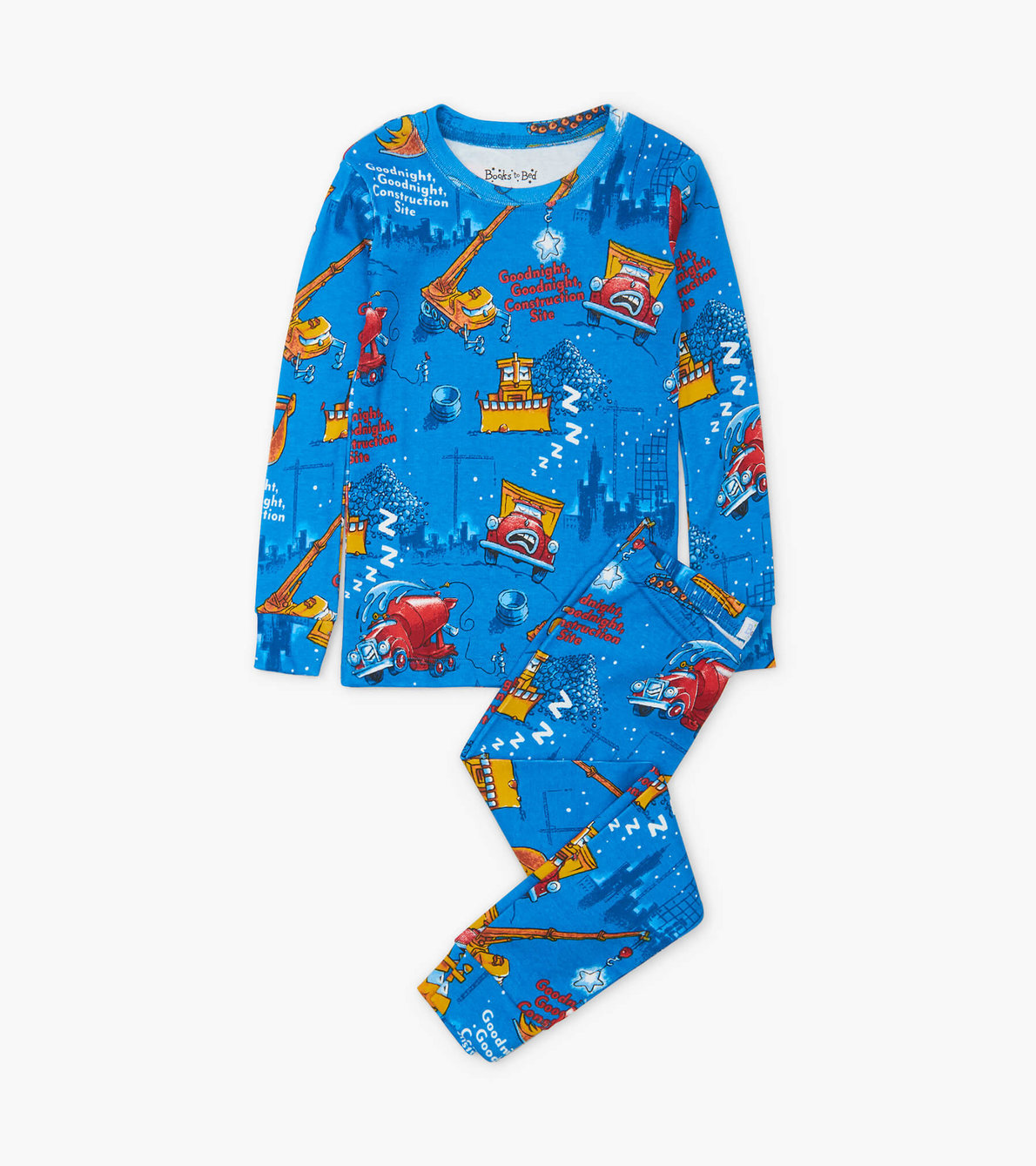 View larger image of Goodnight, Goodnight, Construction Site Pajama Set