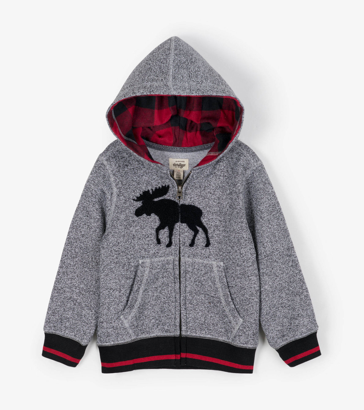 View larger image of Grey Moose Kids Heritage Full Zip Hoodie