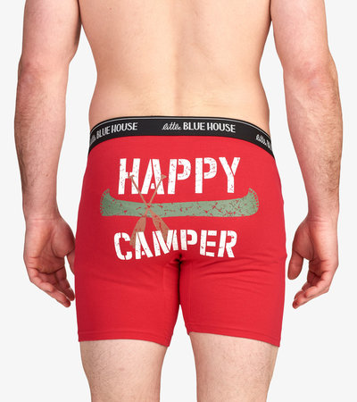 Happy Camper Men's Boxer Briefs